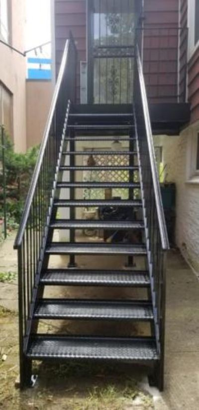 steel masters external steel stairs