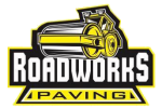 Road Works Paving Logo